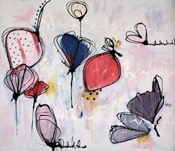 Ma Place dans ton Coeur by Annie Rodrigue -  sized 24x20 inches. Available from Whitewall Galleries